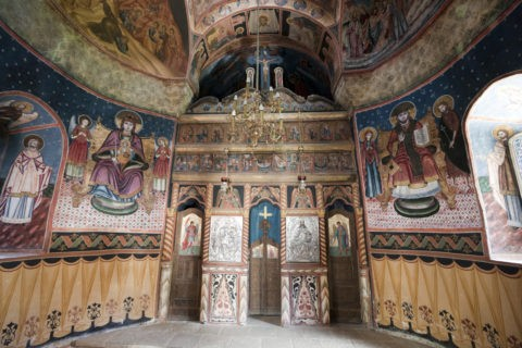 シナイア僧院内部