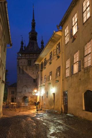 時計塔とヴラドドラクルの家 世界遺産