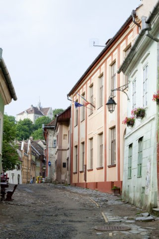 旧市街の町並みと山上教会 世界遺産