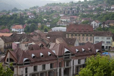 城塞都市の町並み 世界遺産