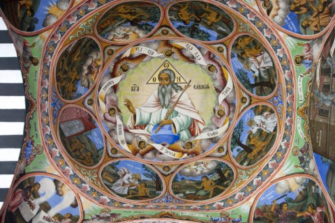 リラの僧院 聖母誕生教会 世界遺産