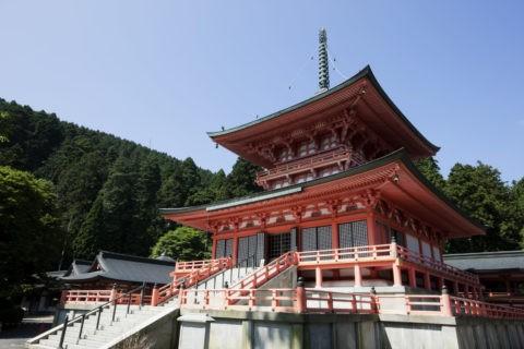 比叡山延暦寺東塔 世界遺産