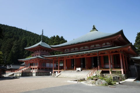 比叡山延暦寺阿弥陀堂と東塔 世界遺産