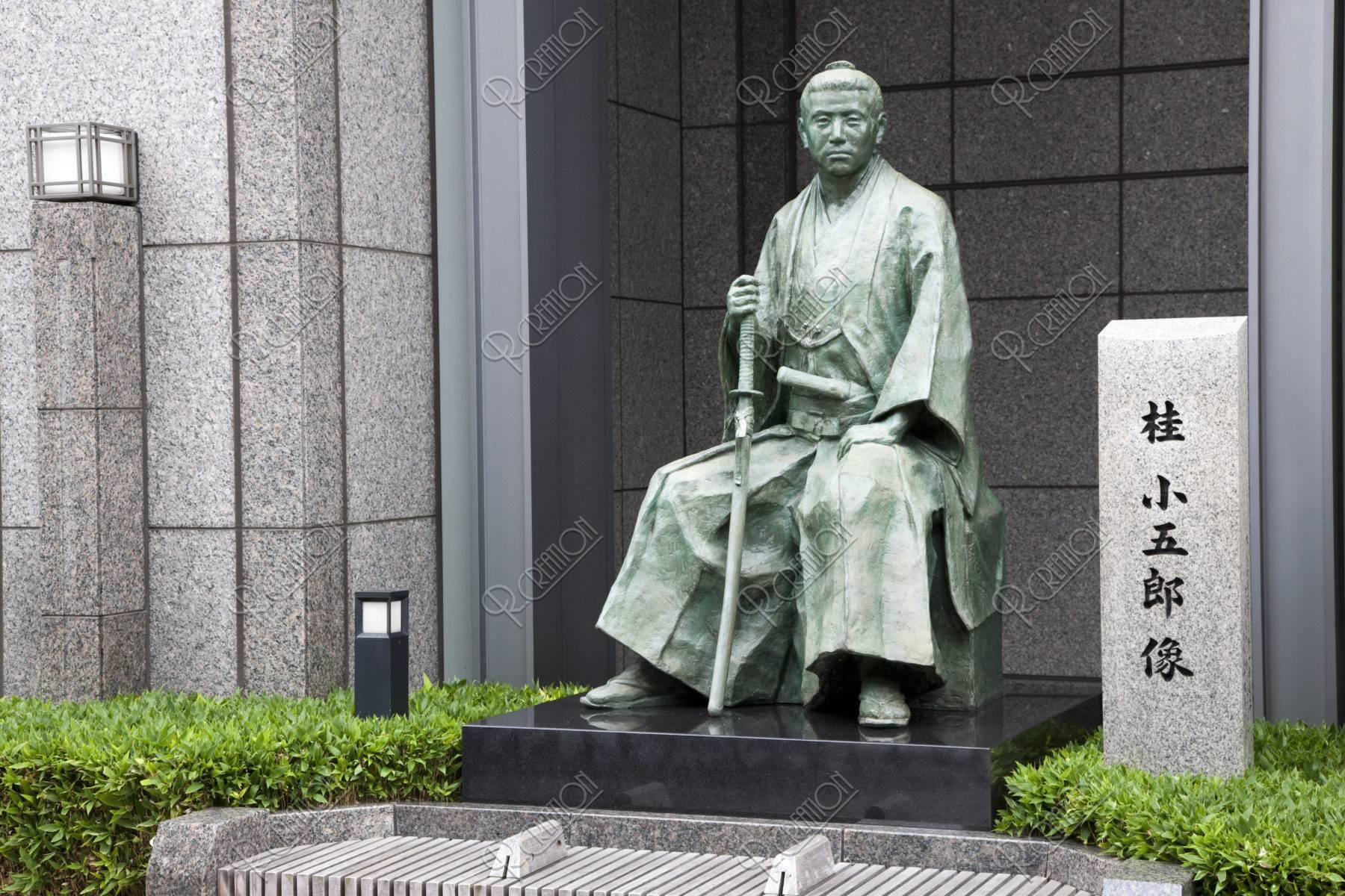 桂小五郎の像