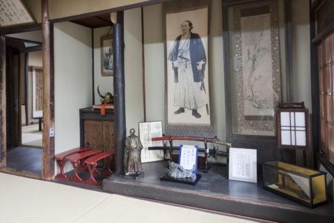 寺田屋 坂本龍馬の部屋