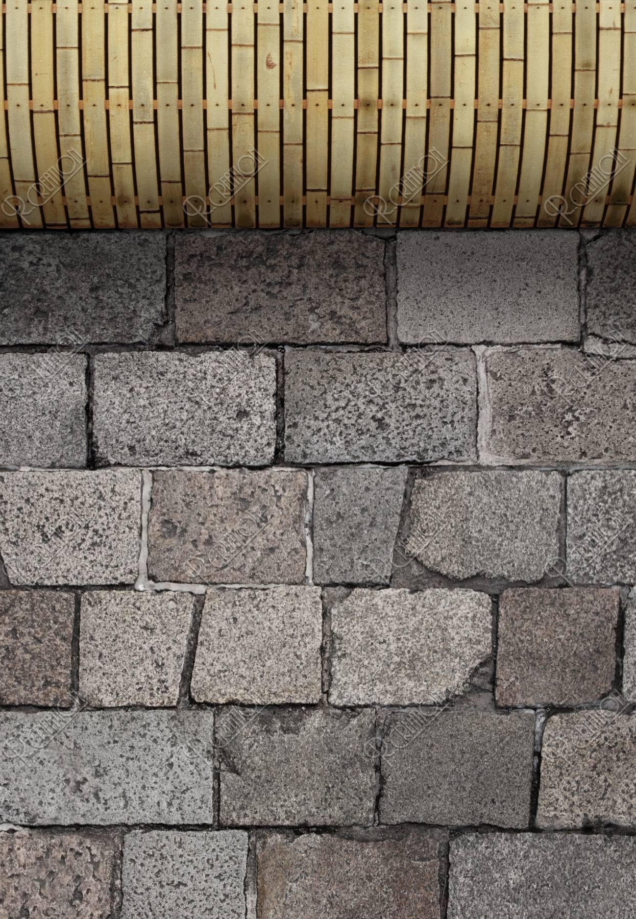 石畳と犬矢来のイメージ