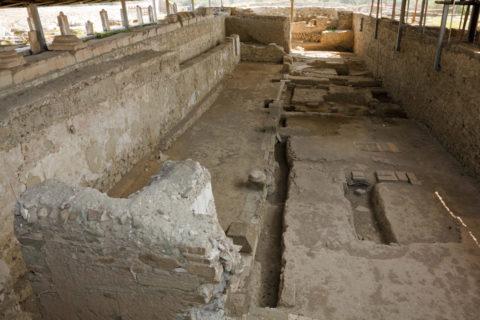 ストビ遺跡 バシリカ聖堂