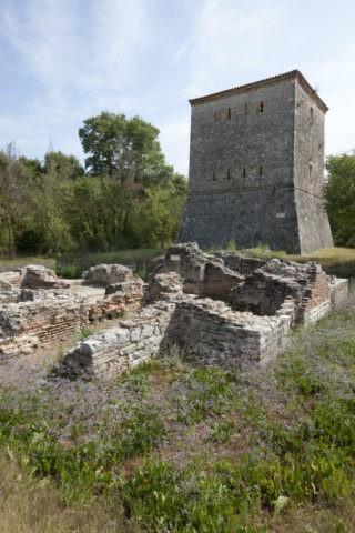 ブトリント遺跡 見張り台と浴場跡 世界遺産