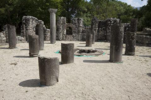 ブトリント遺跡 洗礼堂 世界遺産