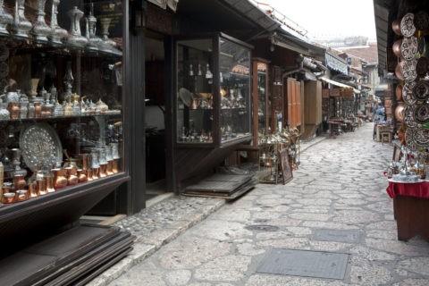 カザンドゥルク 銅細工の店