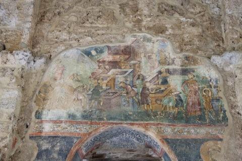 ソポチャニ修道院 フレスコ画 世界遺産