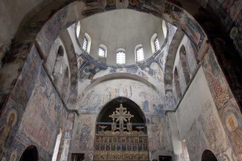 ストゥデニツァ修道院 聖ニコラス聖堂 世界遺産