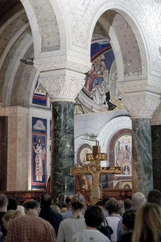 聖サヴァ教会 ミサ