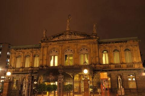 国立劇場 夜景