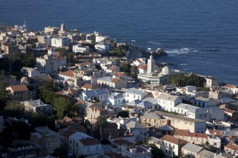 地中海と町並み