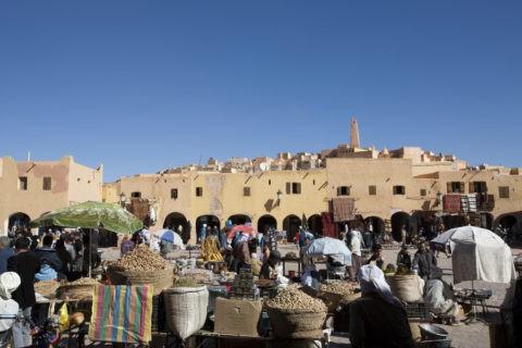 ムザブの谷 ガルダイア スーク 世界遺産