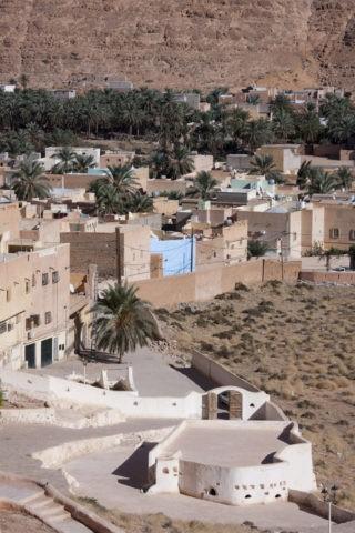 エルアーティフ シディブラヒムモスクと町並み 世界遺産