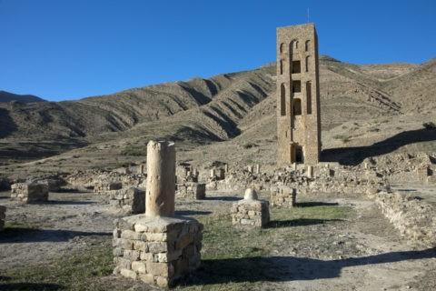 ベニハマッド モスク跡とミナレット 世界遺産