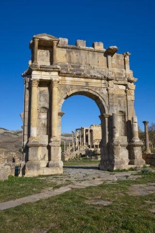 ジェミラ遺跡 カラカラ帝の凱旋門 世界遺産