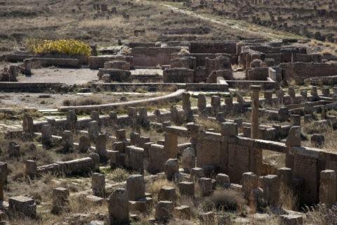 ティムガット遺跡 南浴場跡 世界遺産