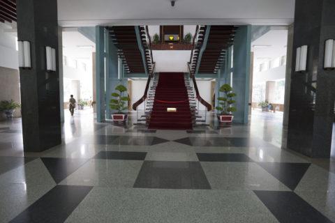統一会堂 (旧大統領官邸) 正面階段