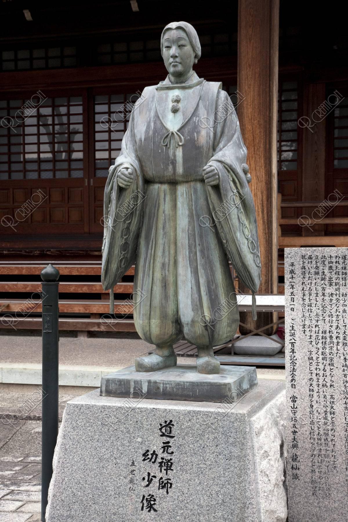 誕生寺 道元禅師幼少像