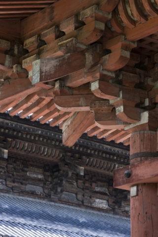 東寺 講堂の軒 世界遺産