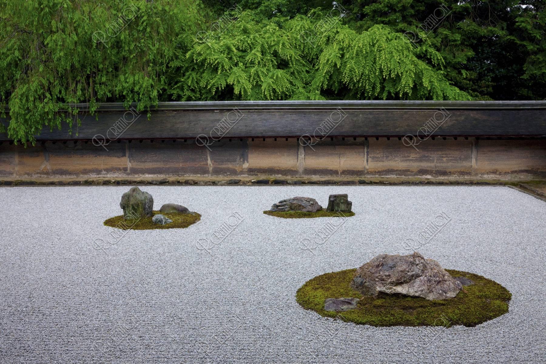竜安寺 石庭 世界遺産