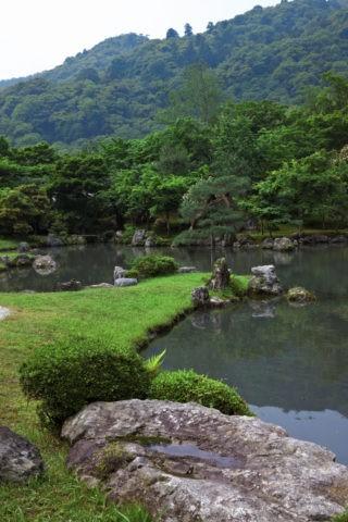 天龍寺 庭園 世界遺産