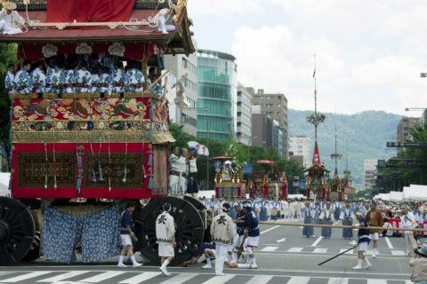 祇園祭 巡行 長刀鉾