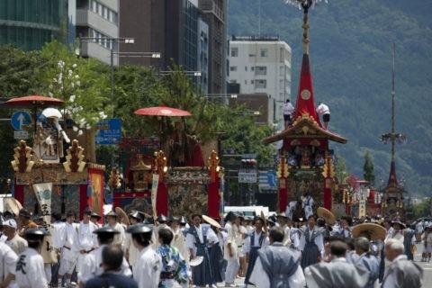 祇園祭 巡行 函谷鉾
