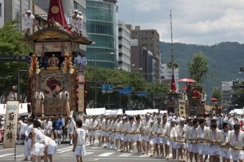 祇園祭 巡行 菊水鉾