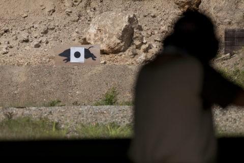 移動標的射撃