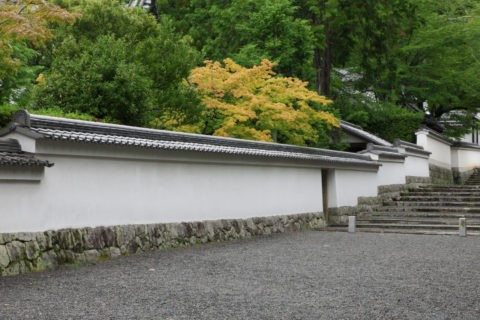 南禅寺 参道の白壁