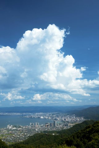 琵琶湖 大津港