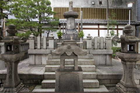 本能寺 信長公の墓