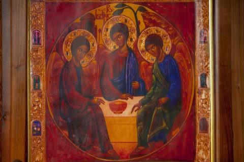 ジュヴァリ聖堂 イコン w