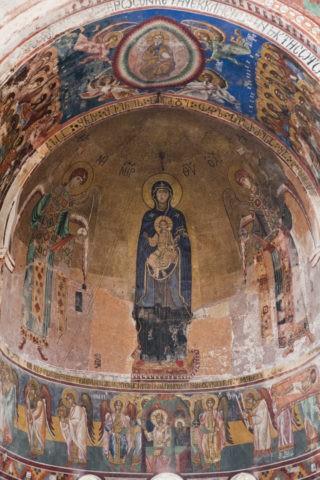 ゲラティ修道院 フレスコ画 w