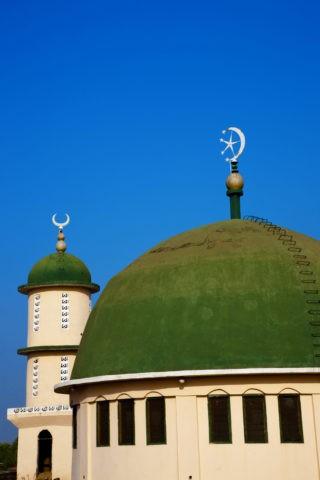 セントラルモスクのドーム