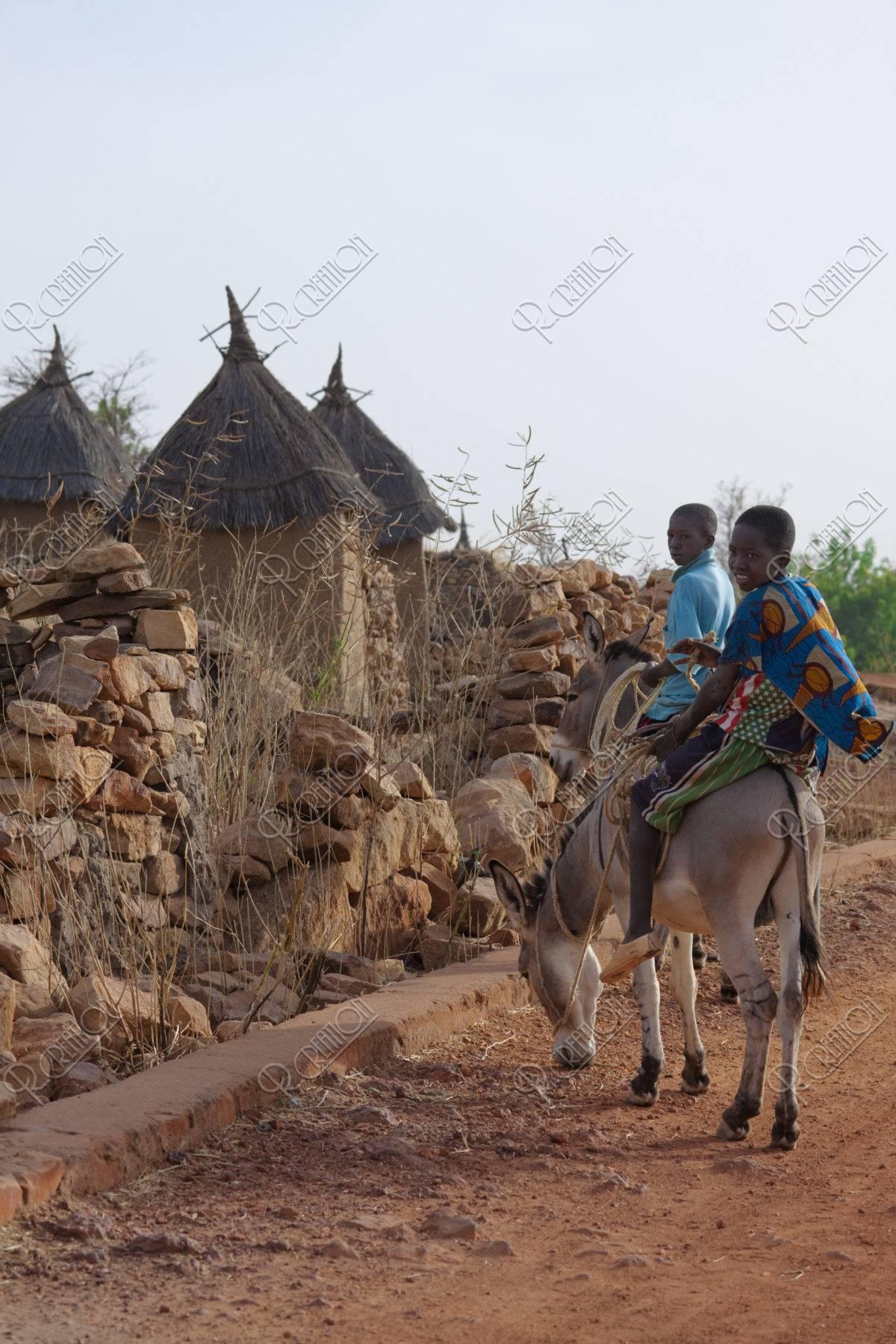 ドゴン族の伝統的住居