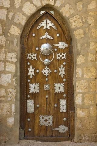 シディアヒアモスク 扉