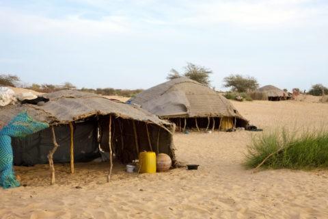 トアレグ族の住居