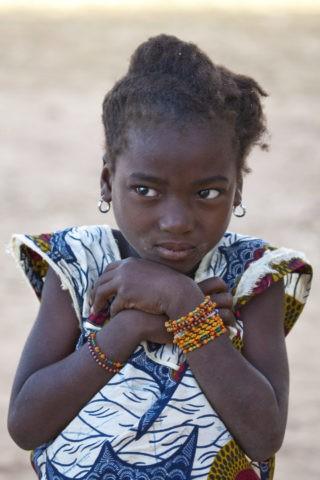 バンバラ族の少女