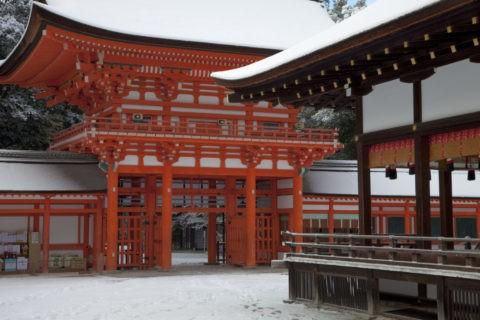 下鴨神社 楼門と舞殿 世界遺産