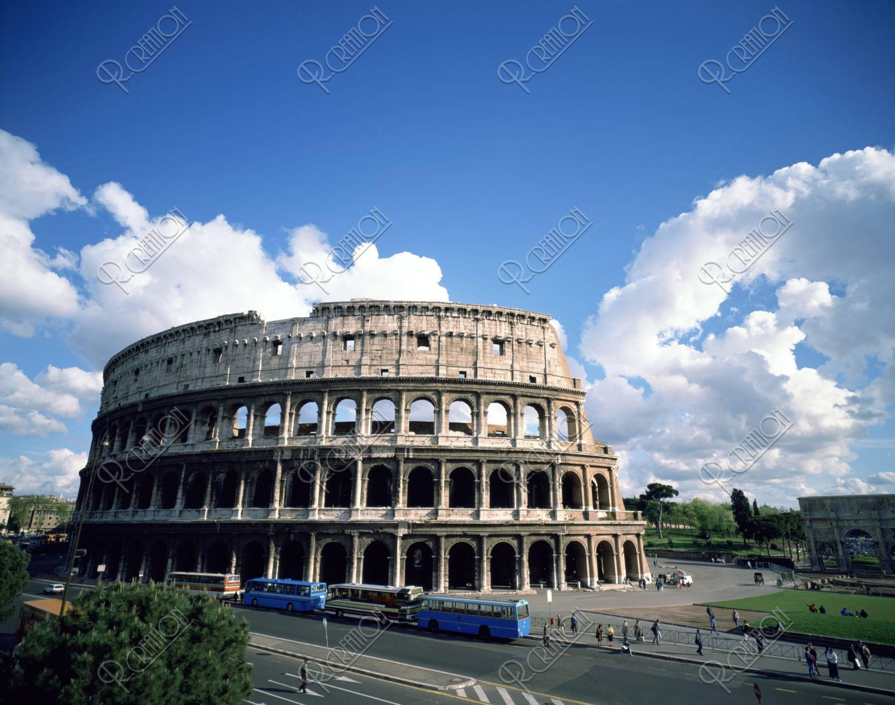 コロッセオ外観 イタリア