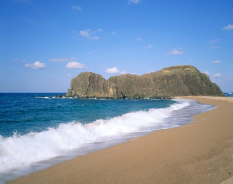 後ヶ浜と立岩