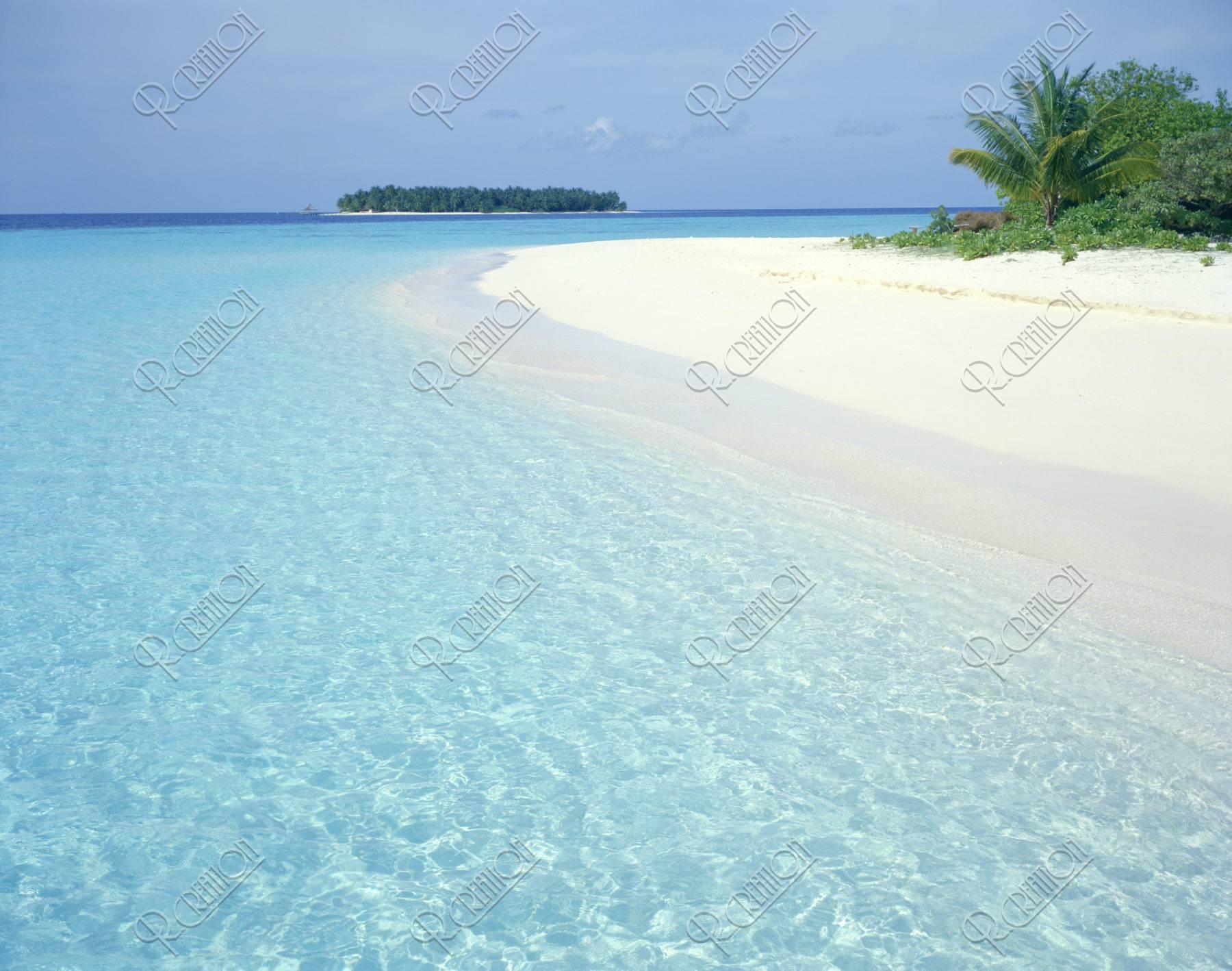 海と空 モルジブ