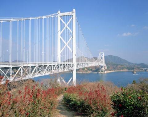 因島大橋(因島より)