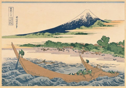 富嶽三十六景 東海道 江尻