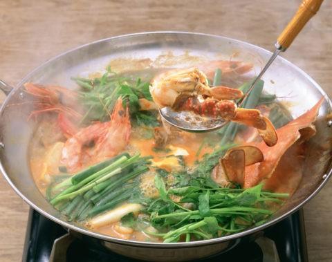 海鮮チゲ鍋
